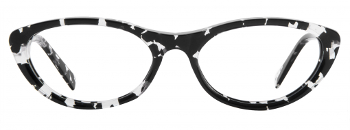 Bruno Chaussignand Michele Black and White Tortoise