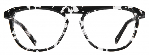 Bruno Chaussignand Velvet Black and White Tortoise