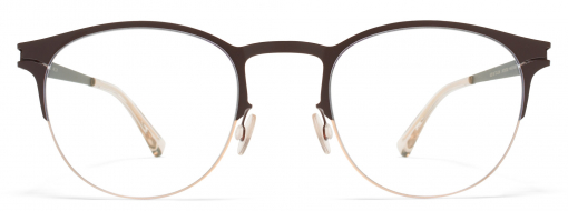 Mykita Jude 285 Champagne Gold Dark Brown 1