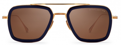 Dita Eyewear Flight 006 Nvy Gld 1