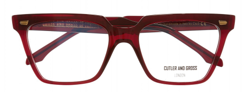 Cutler and Gross 1346 03 Red Mini 3