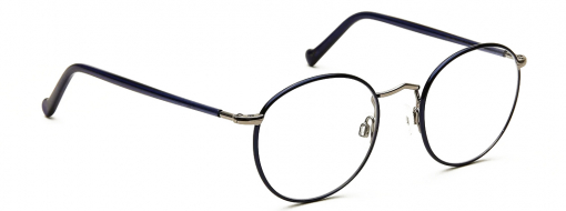Moscot Zev Sapphire Pewter 2