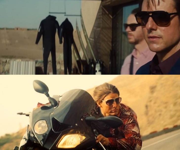 Gafas de sol de Tom Cruise en Mision Imposible 5-LGR Comoros and LGR Tangeri