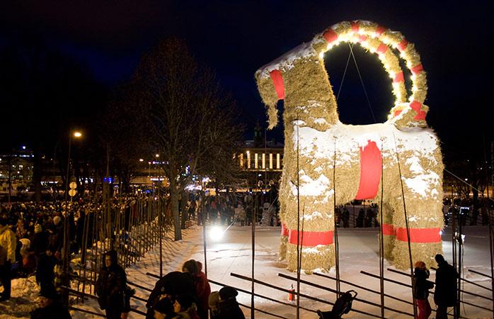 Cabra castillo Gävle Suecia