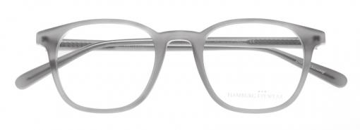 Hamburg Eyewear Frank Light Grey Transparent Matte 2