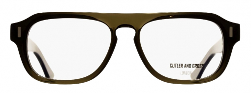 Cutler and Gross 1319 09 Olive Green front