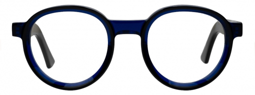 Cutler and Gross 1384 01 Black on Blue front